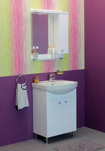 100 % PVC водоустойчиви мебели за баня Ангара 60 - 80 см