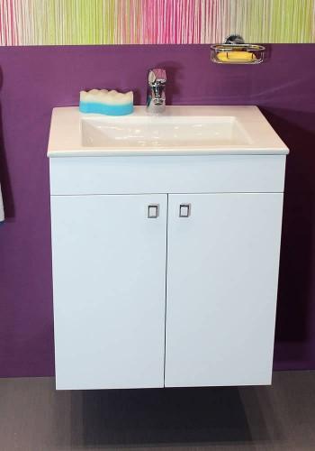 Шкаф за баня Атина долен 55 см конзолен