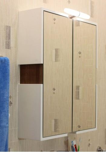 Шкаф за баня Авангард горен 58 см - Класика