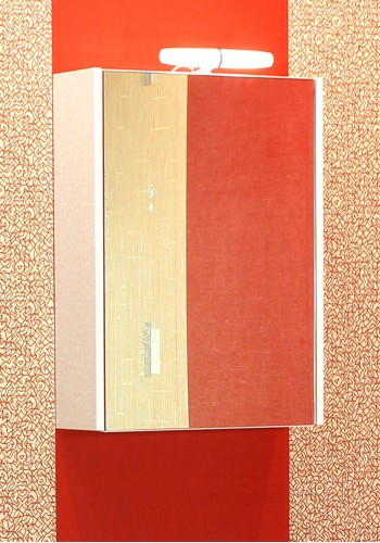 Горен шкаф за баня Класика 40 см с осветление