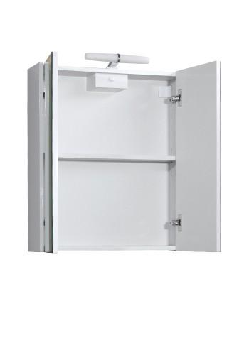Горен шкаф за баня Класика 60 см с осветление