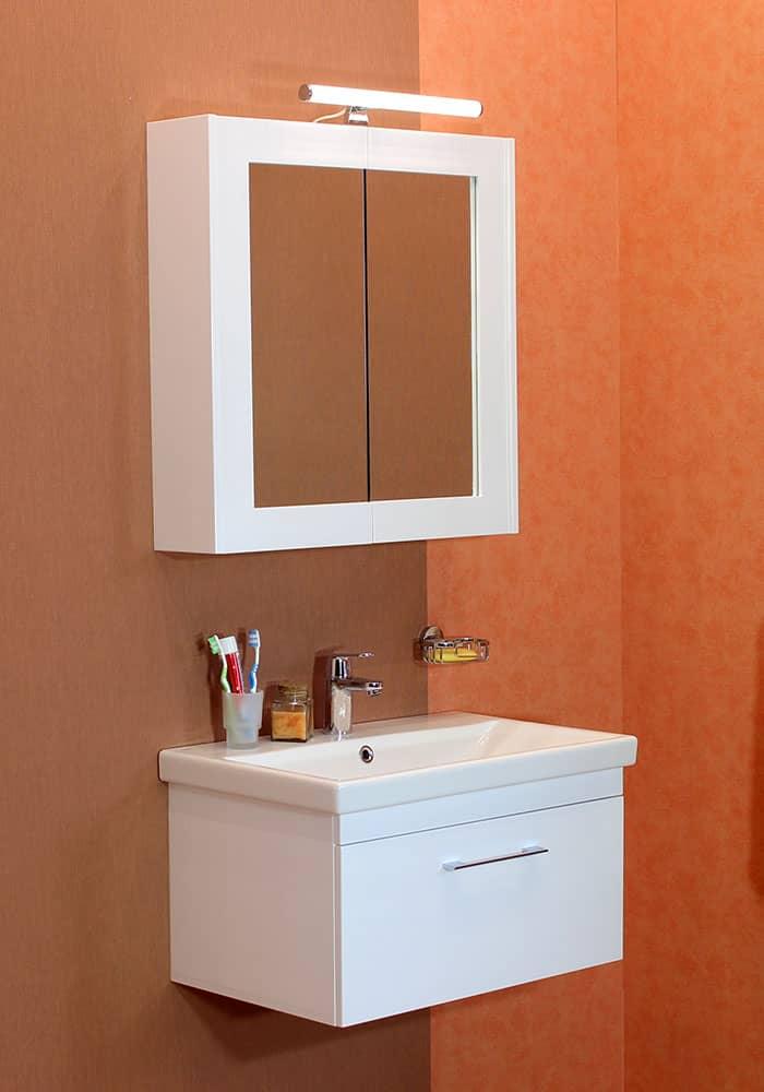 100 % PVC водоустойчиви мебели за баня Елит 70 - 100 см