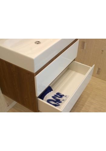 Шкаф за баня Фаворит 75 см долен конзолен