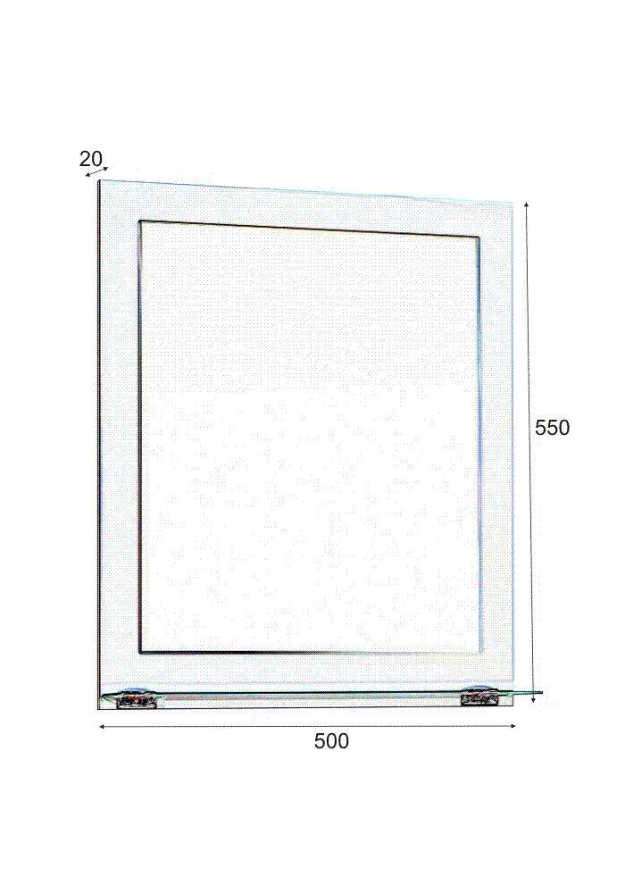 Огледало за баня ММ 50 см
