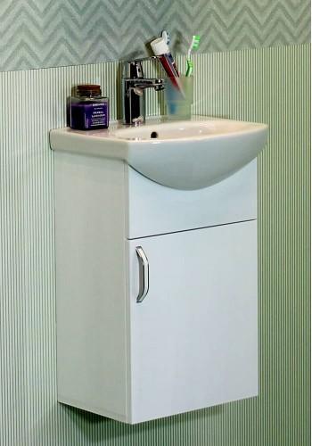 Шкаф за баня Мини 40 см конзолен