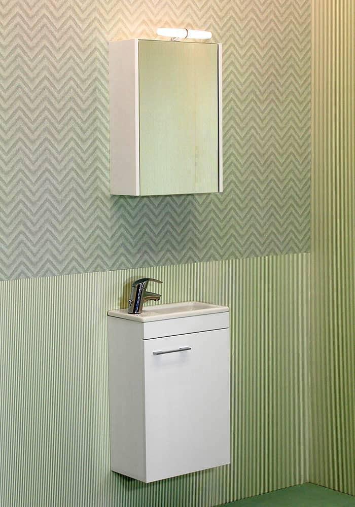 100 % PVC водоустойчиви мебели за баня Мини Некст 40 см