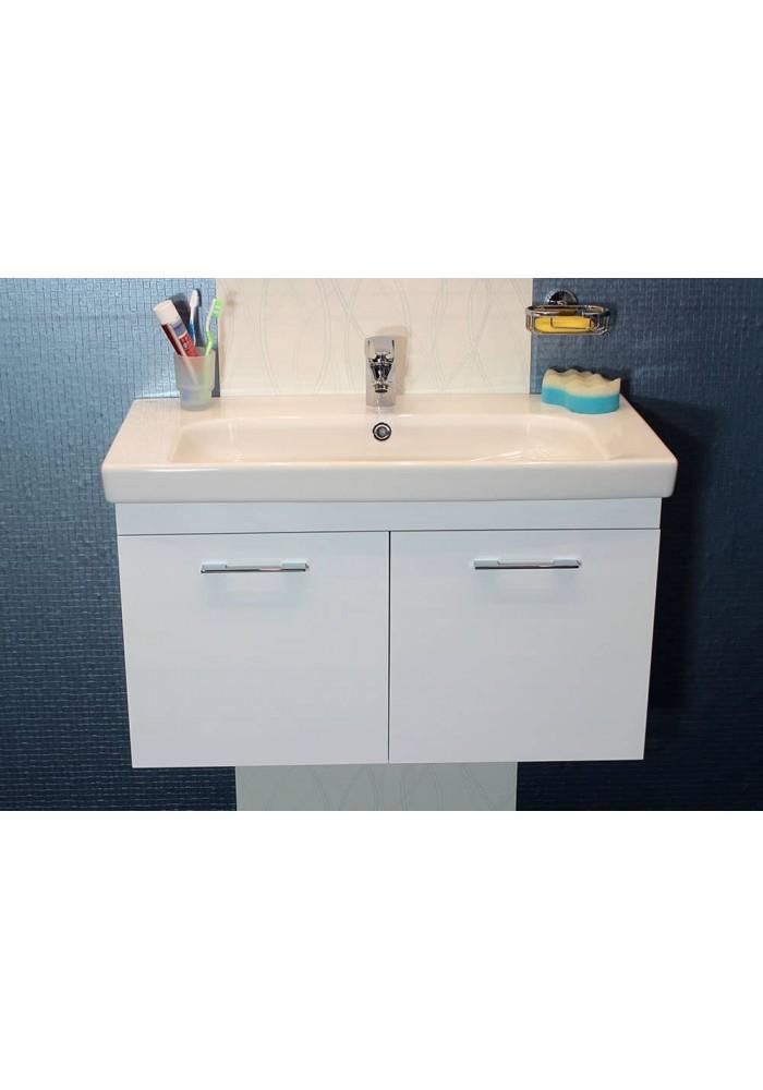 Шкаф за баня Модена некст долен 85 см конзолен