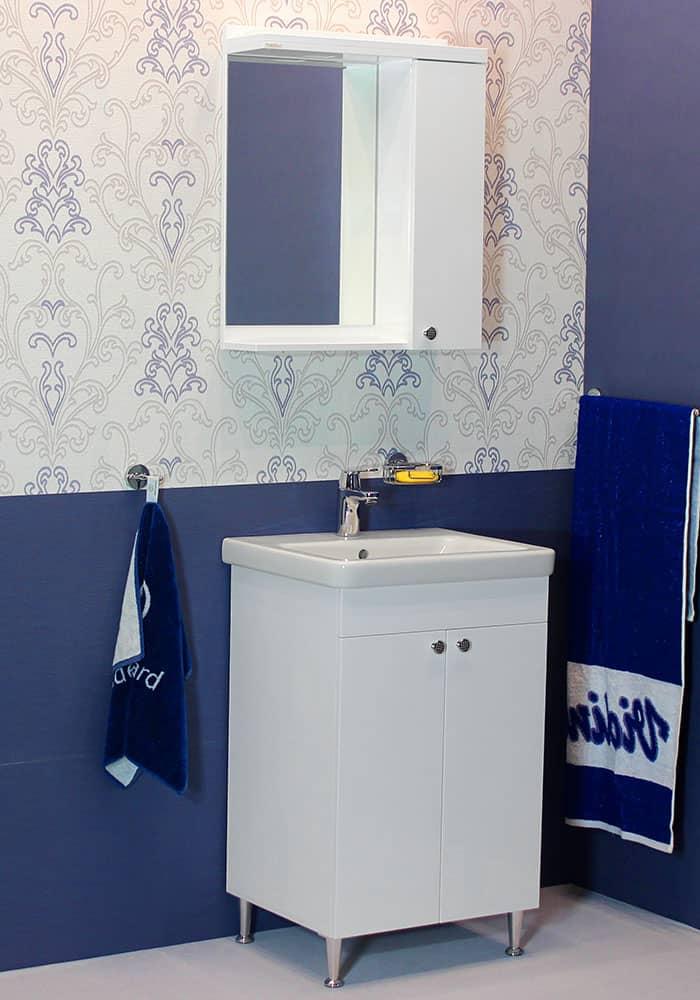100 % PVC водоустойчиви мебели за баня Нео 2  55 см