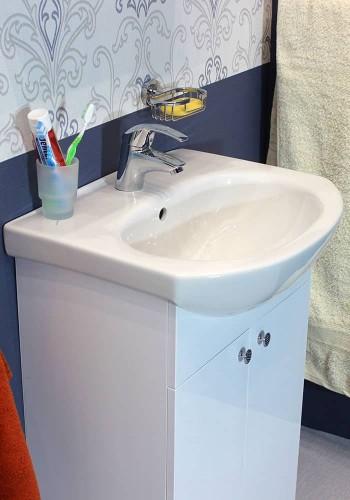 Шкаф за баня Нео долен 55 см
