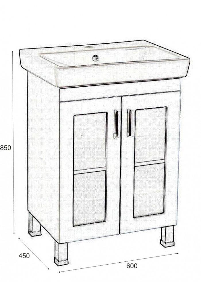Шкаф Осака долен 60 см