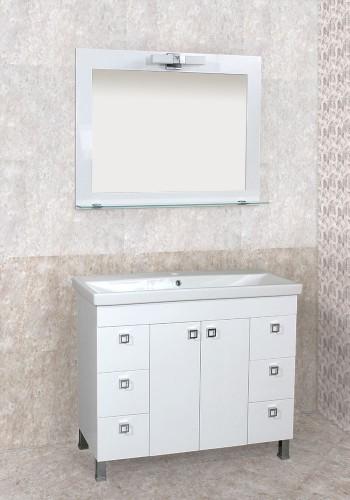 100 % PVC водоустойчиви мебели за баня Пандора 100 см