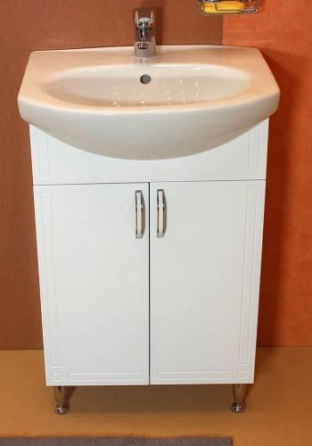 Шкаф за баня Рим долен 55 см на крака