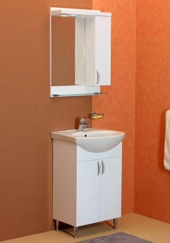 100 % PVC водоустойчиви мебели за баня Рим 55 см   НАЙ-ПРОДАВАН МОДЕЛ