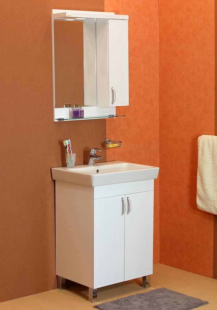 100 % PVC водоустойчиви мебели за баня Рим плюс с  НАГРЕВАТЕЛ
