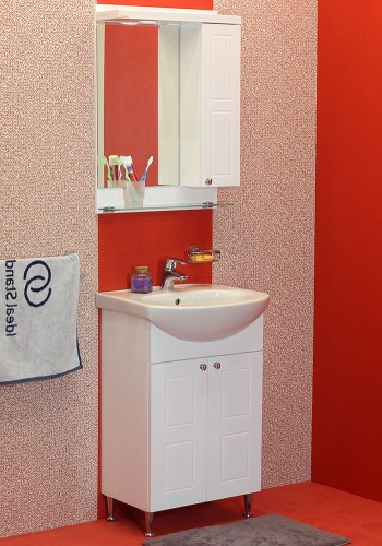 100 % PVC водоустойчиви мебели за баня Самара 50 - 55 см