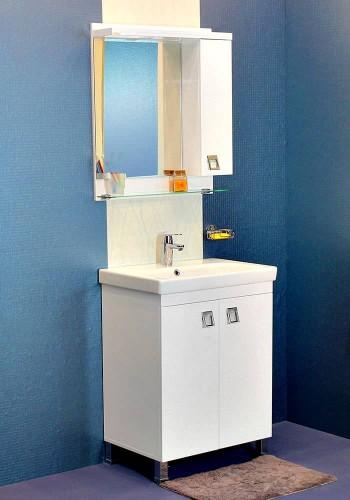 100 % PVC водоустойчиви мебели за баня Тринити 65 - 85 см
