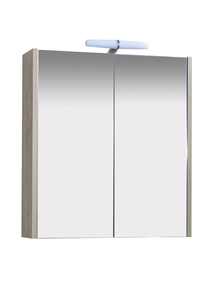 Горен шкаф за баня КЛАСИКА 60 см с HPL