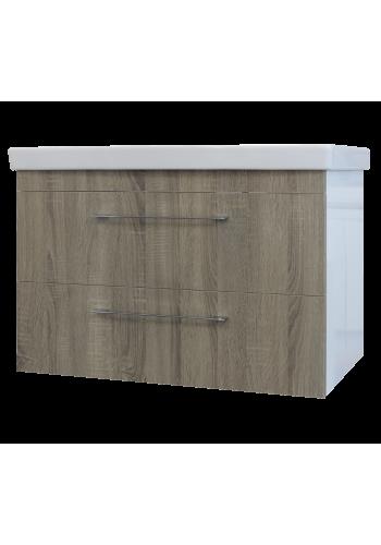Шкаф за баня Рома долен 85 см конзолен HPL