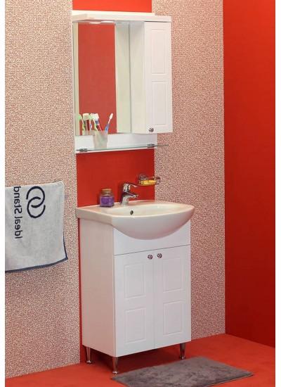100 % PVC водоустойчиви мебели за баня Самара 50 - 55 см (Видео)