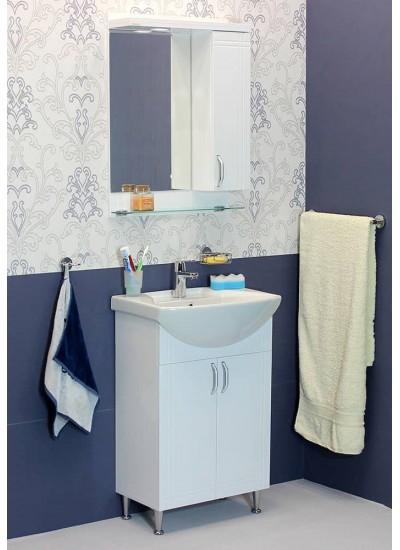 100 % PVC водоустойчиви мебели за баня София лукс 55 см. Умивалник