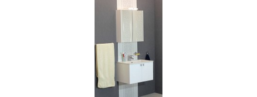 100 % PVC водоустойчиви мебели за баня Бяла Витоша (Видео)